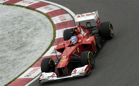 Fernando Alonso saldrá tercero en el Gilles Villeneuve mañana