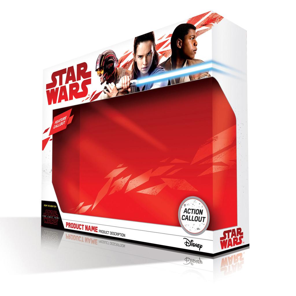 La caja donde vendrán los juguetes de Star Wars VIII