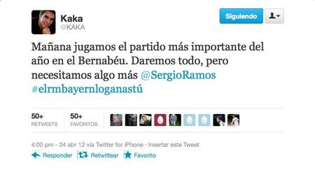 Los jugadores del Madrid juegan a la cadena en Twitter