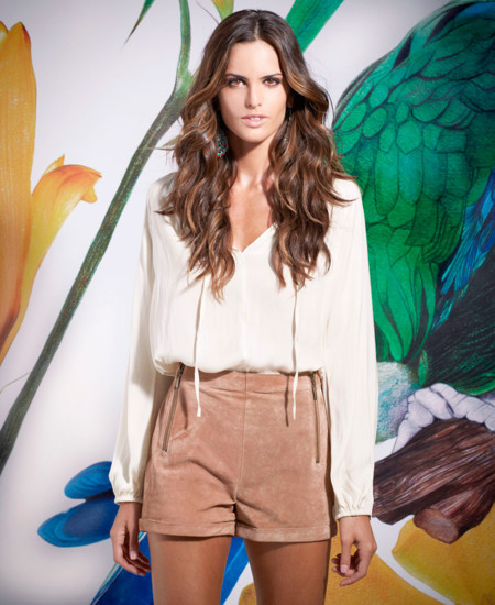 Blusa blanca SuiteBlanco Primavera –Verano 2014