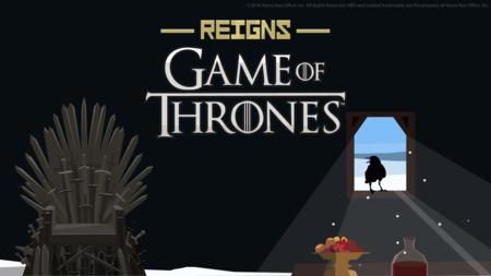 El destino de los Siete Reinos se decidirá de una forma divertida en octubre con Reigns: Game of Thrones