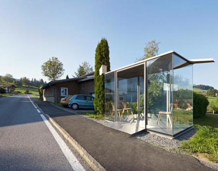 Paradas de autobús arquitectos