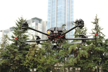 El dron de la Universidad Iberoamericana puede volar hasta por 40 minutos