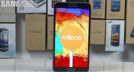 Samsung Galaxy Note 3 también se prepara para la llegada de Lollipop: aquí está la 'preview' en vídeo