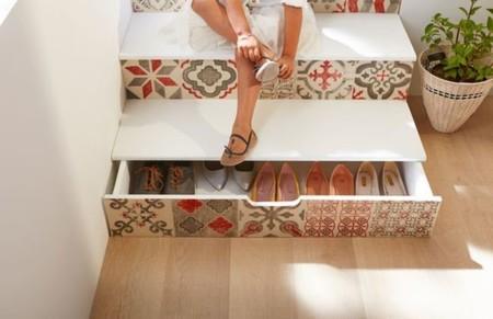 11 ideas para aprovechar el espacio sin perder estilo for Gabinete de zapatos para la entrada