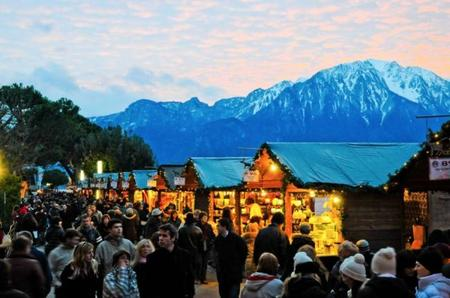 Montreux: Papá Noël también se pasea por Suiza