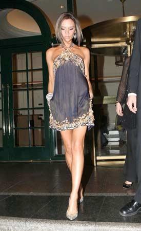 Victoria Beckham describe sus vestidos