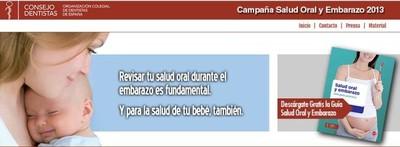 La Organización Colegial de Dentistas de España te revisa gratis en junio si estás embarazada