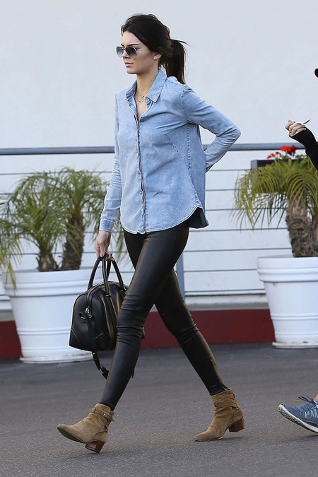 Kendall Jenner Camisa Vaquero