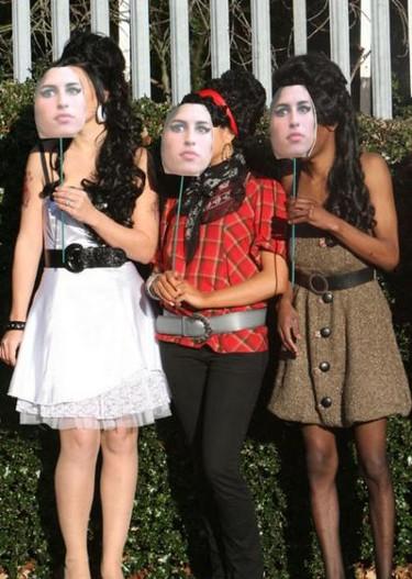 Disfrazarse de Amy Winehouse es muy sencillito