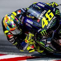 """Valentino Rossi: """"Estoy muy contento con el ambiente del box, en Yamaha están muy centrados en mejorar"""""""