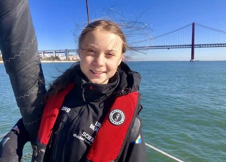 800 kilómetros de distancia y 51 kg de CO2: las cifras del viaje en tren que no convencen a Greta Thunberg