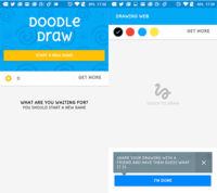 Facebook ya tiene listo el primer juego para su servicio de mensajería: Doodle Draw