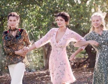 Kylie Jenner, Bella Hadid y Lottie Moss desembarcan en Vogue USA, ¡qué tiemblen sus hermanas!