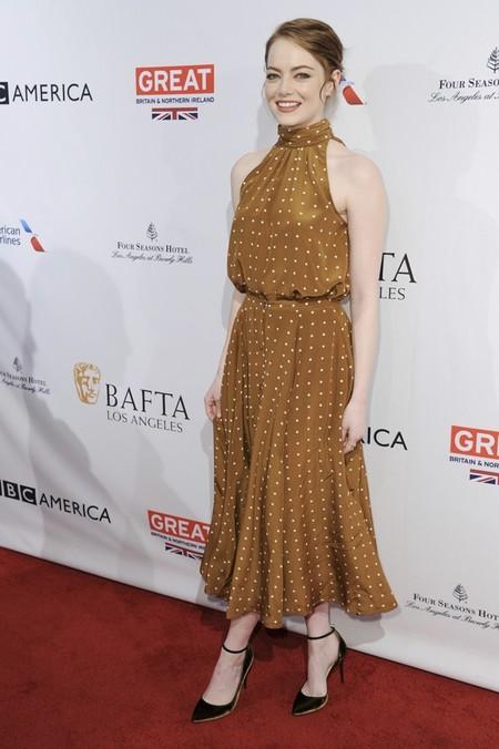 Emma Stone de Diane Von Furstenberg