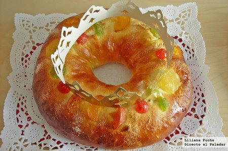 Roscón de Reyes casero