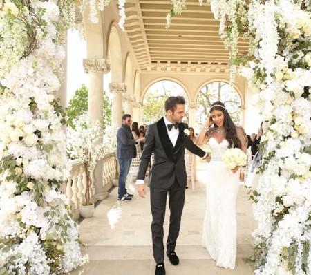 Cesc Fábregas y Daniella Semaan se dan el sí quiero y así ha sido el vestido de novia