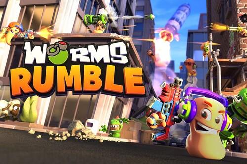 Estas son mis sensaciones tras jugar a la beta abierta de Worms Rumble, el primer Worms en tiempo real en plan Battle Royale