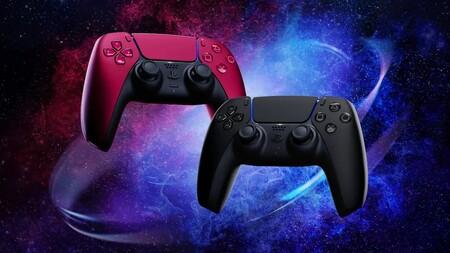 PlayStation anuncia nuevos colores del control DualSense de PS5: Negro Medianoche y Rojo Cósmico llegarán el próximo mes