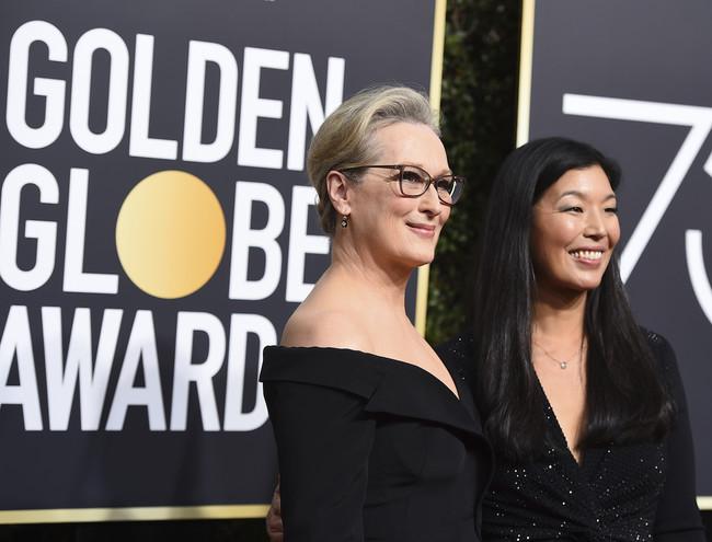 Meryl Streep Globos De Oro