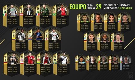 FIFA 18: Los delanteros lideran el equipo de la semana