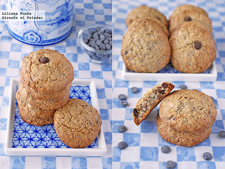 Galletas crujientes de avellana y chocolate. Receta
