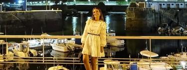 Cinco alternativas al vestido blanco de manga larga y detalles de encaje de Paula Echevarría para triunfar durante el entretiempo