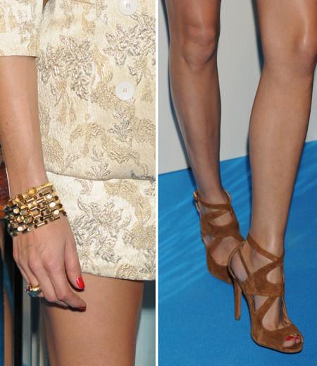 Olivia Palermo sandalias Zara