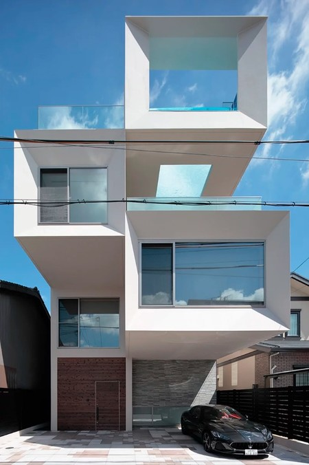 Casa Moderna Japon 2