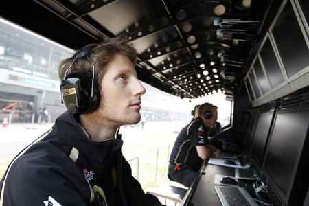 Lotus Renault GP confirma a Romain Grosjean como segundo piloto