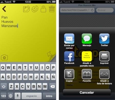 1TapNote para iPhone, para los que sus notas son el centro del mundo