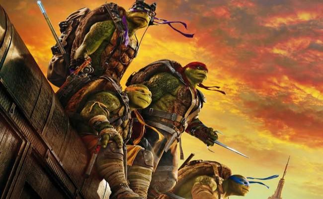 Cartel Ninja Turtles Fuera De Las Sombras