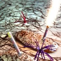 SantaGloria celebra el San Juan con una coca de lo más explosiva