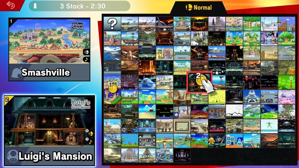 Super Smash Bros Ultimate Escenarios 02