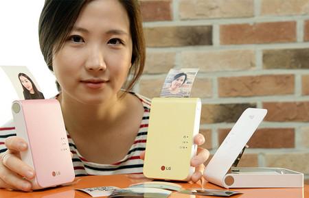 LG prepara la renovación de su impresora portátil LG Pocket Photo para el CES  2014
