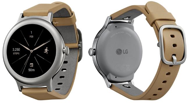 LG Watch Style no esconde sus dos colores, este es el smartwatch con Android Wear 2.0