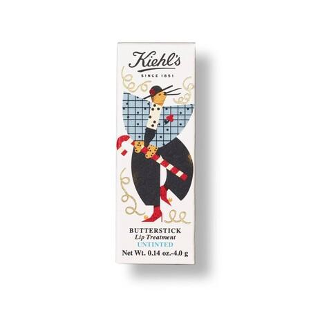 Kiehls Holiday 2020 Lip Balm Butterstick Lip Treatment Untinted Box