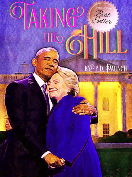 Barack Obama Hillary Clinton Hug Photoshop Battle 15