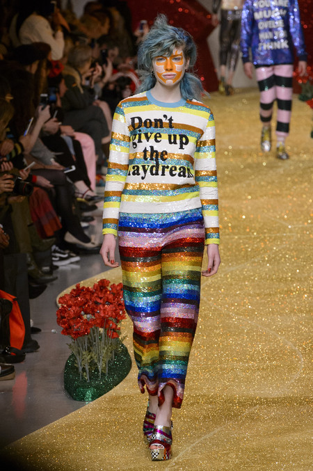 Ashish london fashion week desfile trump