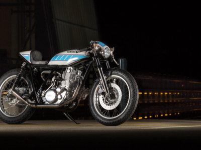 Yamaha SR400 by Krugger, una preparación café racer de miedo