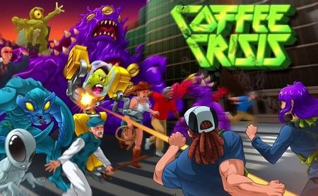 Análisis de Coffee Crisis, un viaje psicotrópico por el beat'em up más duro de la Mega Drive
