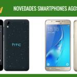 Precios Samsung Galaxy J5 y HTC Desire 825 con Orange, novedades en agosto
