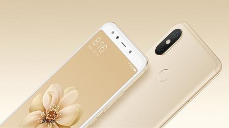 Xiaomi Mi6X de 64GB (posiblemente futuro Mi A2) por 201 euros y envío gratis