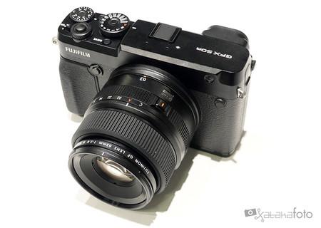 Fujifilm Gfx 50r Toma Contacto