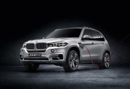 BMW Concept X5 eDrive, también para Frankfurt