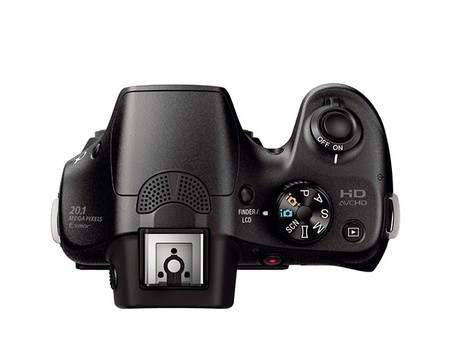 Sony A3000 top