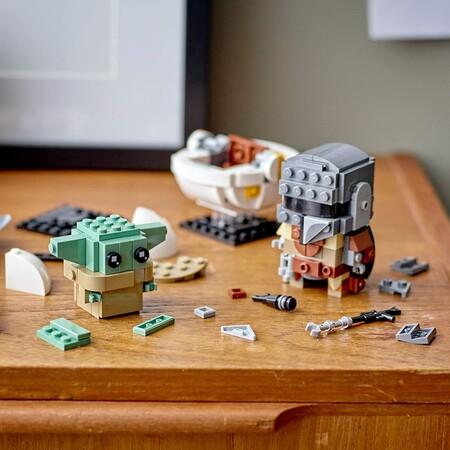 Set de LEGO Star Wars The Mandalorian y Baby Yoda con descuento en Amazon México