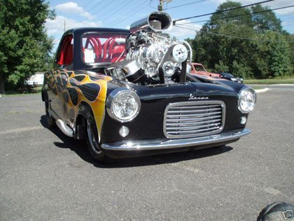 1960 Vespa Prostreet Custom Hot Rod Microcar