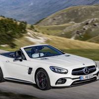 El Mercedes-Benz SL se escapa por la red