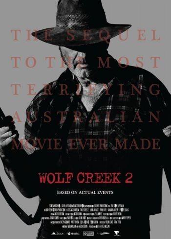 'Wolf Creek 2', tráiler y cartel de lo nuevo de Greg Mclean